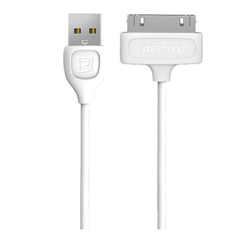 Кабель USB – Apple 30 pin Remax Lesu RC-050i 1.0m круглый 1.4А (белый)