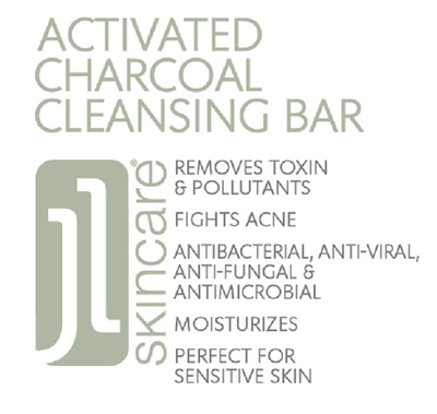 JL Activated Charcoal Cleansing Bar