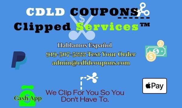 CDLD COUPONS™ SERVICE