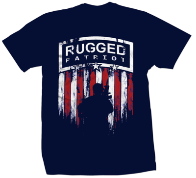 Rugged Patriot Soldier Shirt