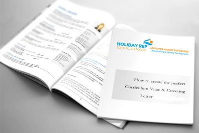 Holiday Rep perfect CV and Covering Letter Cheat Guides