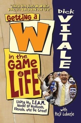 [OUT OF STOCK]Dick Vitale's Getting a W in the Game of Life-Softcover DV-W-BOOK