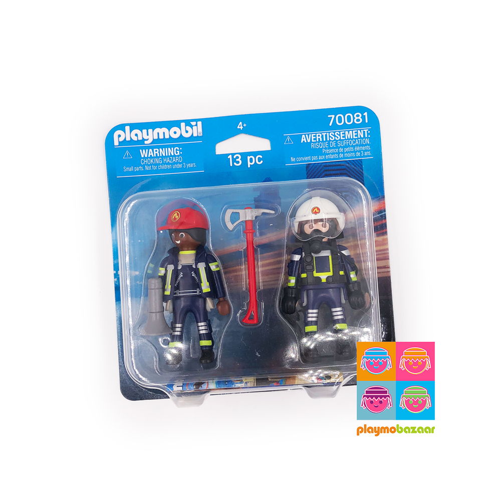 70081 Rescue Fire Fighters Duo Pack 消防員