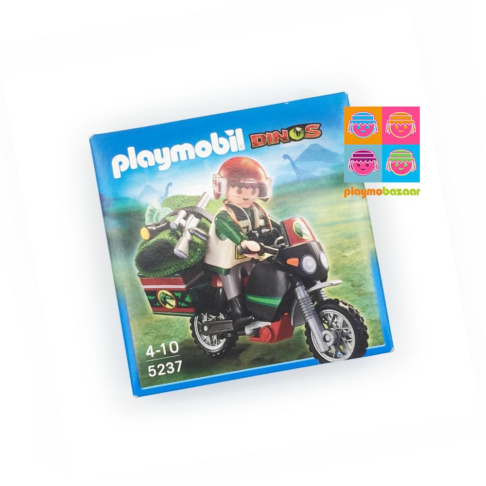 5237 Explorer with Motorcycle 恐龍探險者與電單車