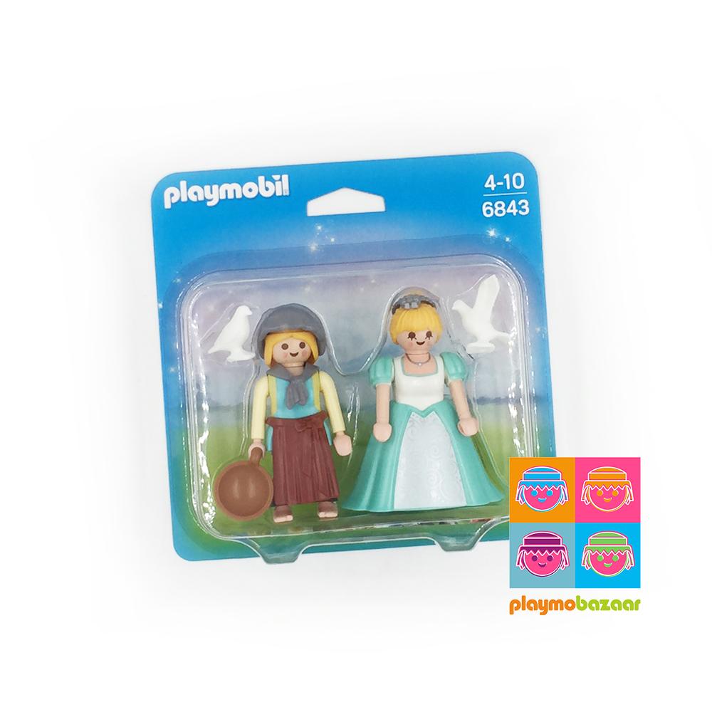 6843 Princess and Handmaid Duo Pack 公主與女僕