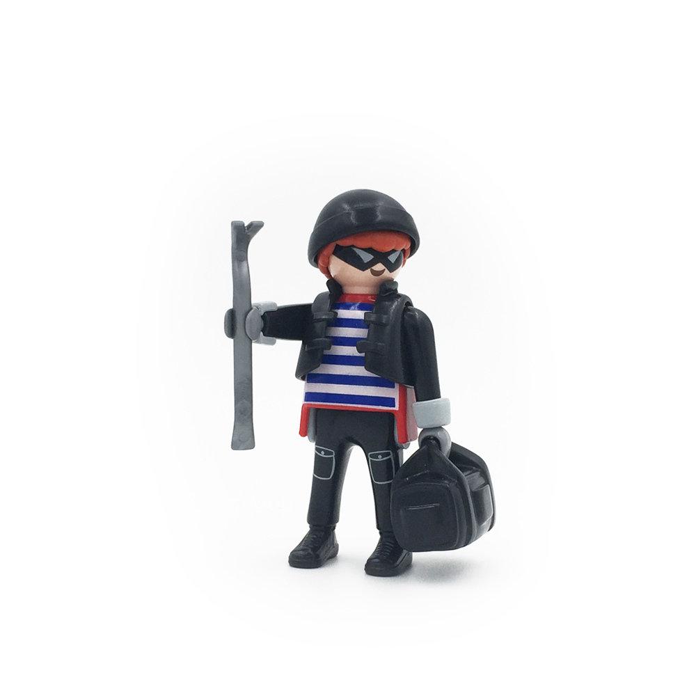 5596 Burglar with Crowbar