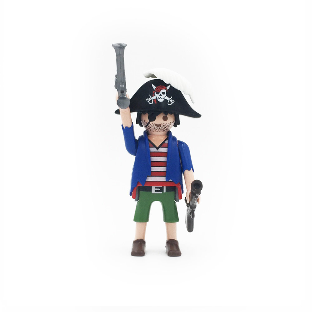 5596 Pirate with Blunderbuss