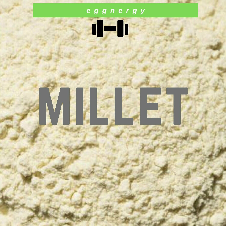 Farine de millet bio: 1 kg (11% de protéines)