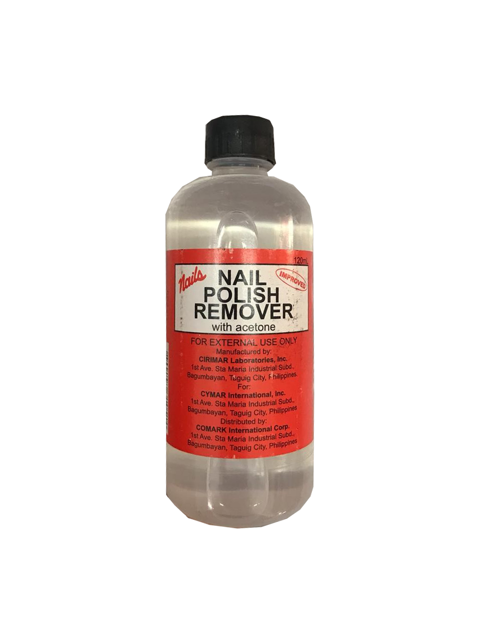 Nails Nail Polish Remover with Acetone 120ml