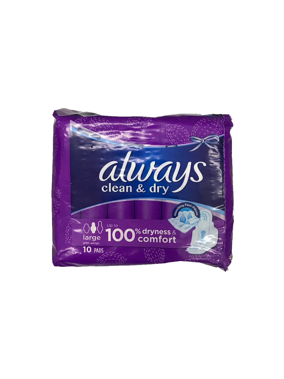 Always 10 Pads Large w/ wings 100g