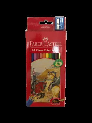 Faber Castell 12 Classic Colour Pastel