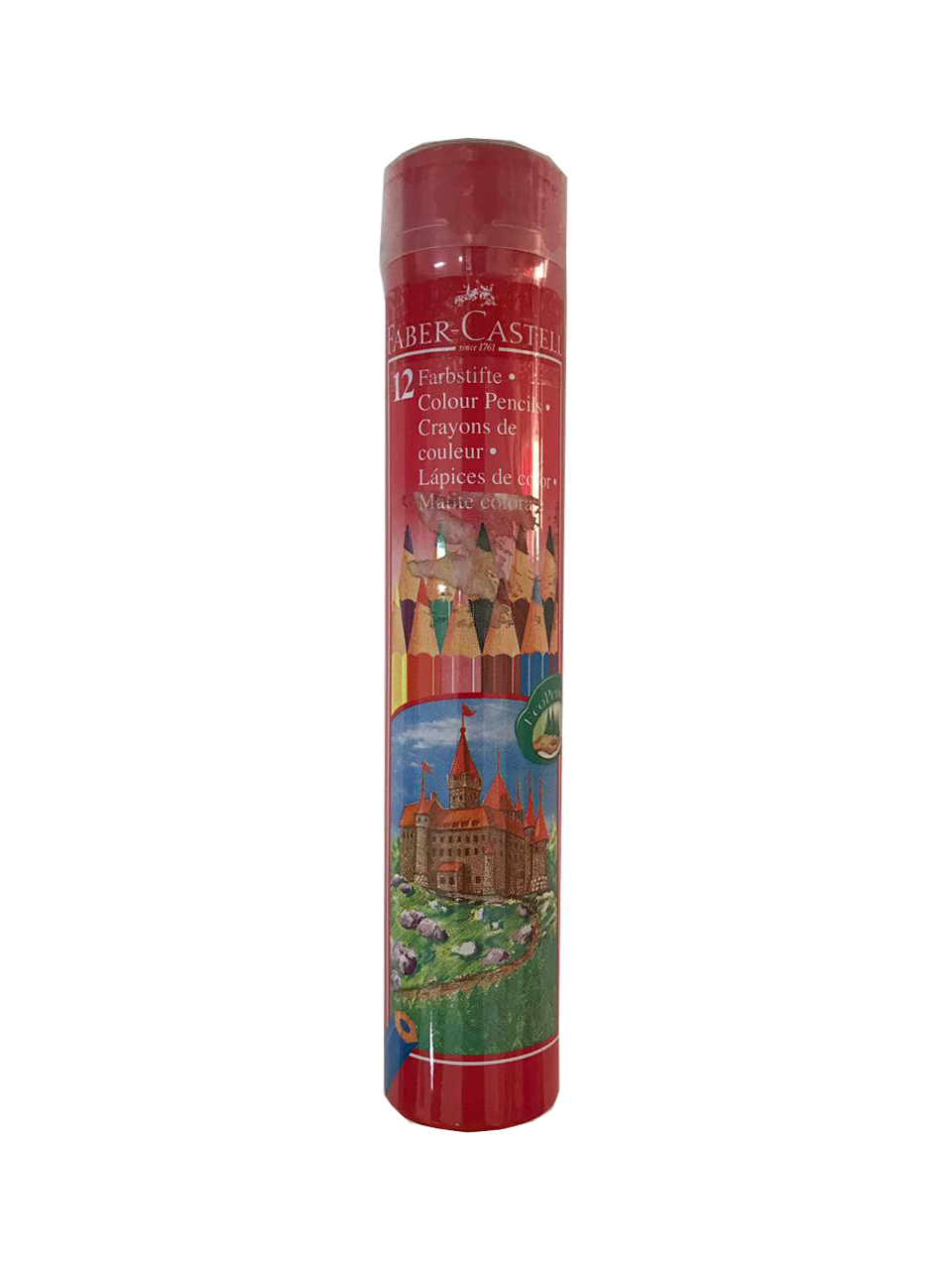 Faber Castell 12 Colour Pencil (round)