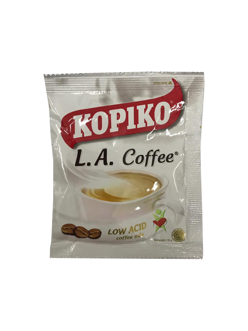 Kopiko LA Coffee - Low Acid 29g