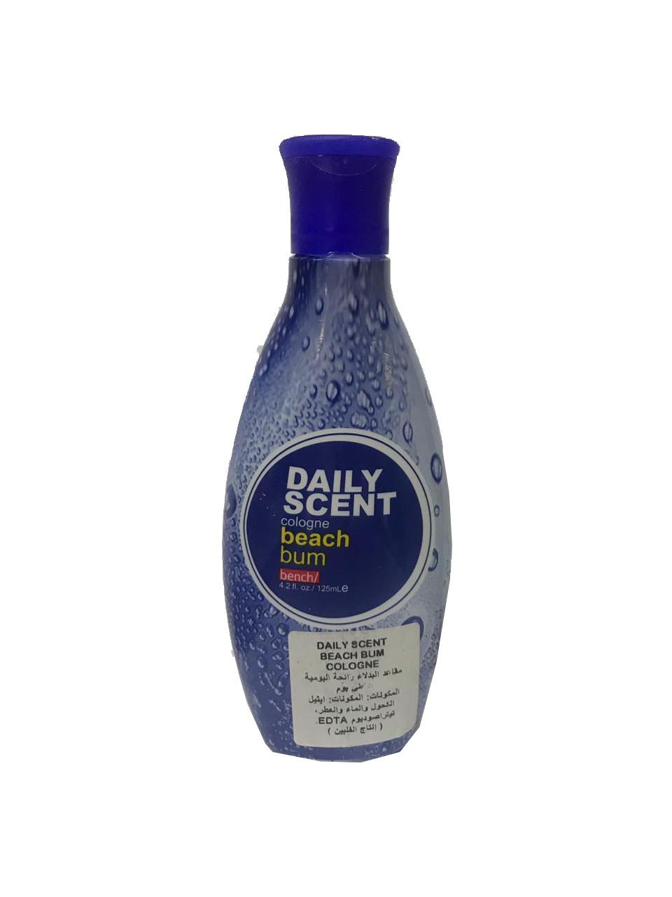 Bench Daily Scent Cologne Beach Bum  125ml