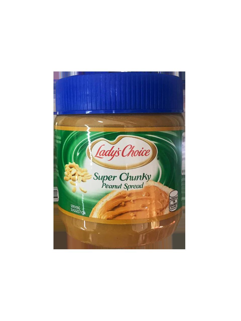 Lady Choice Super Chunky Peanut Butter 340g