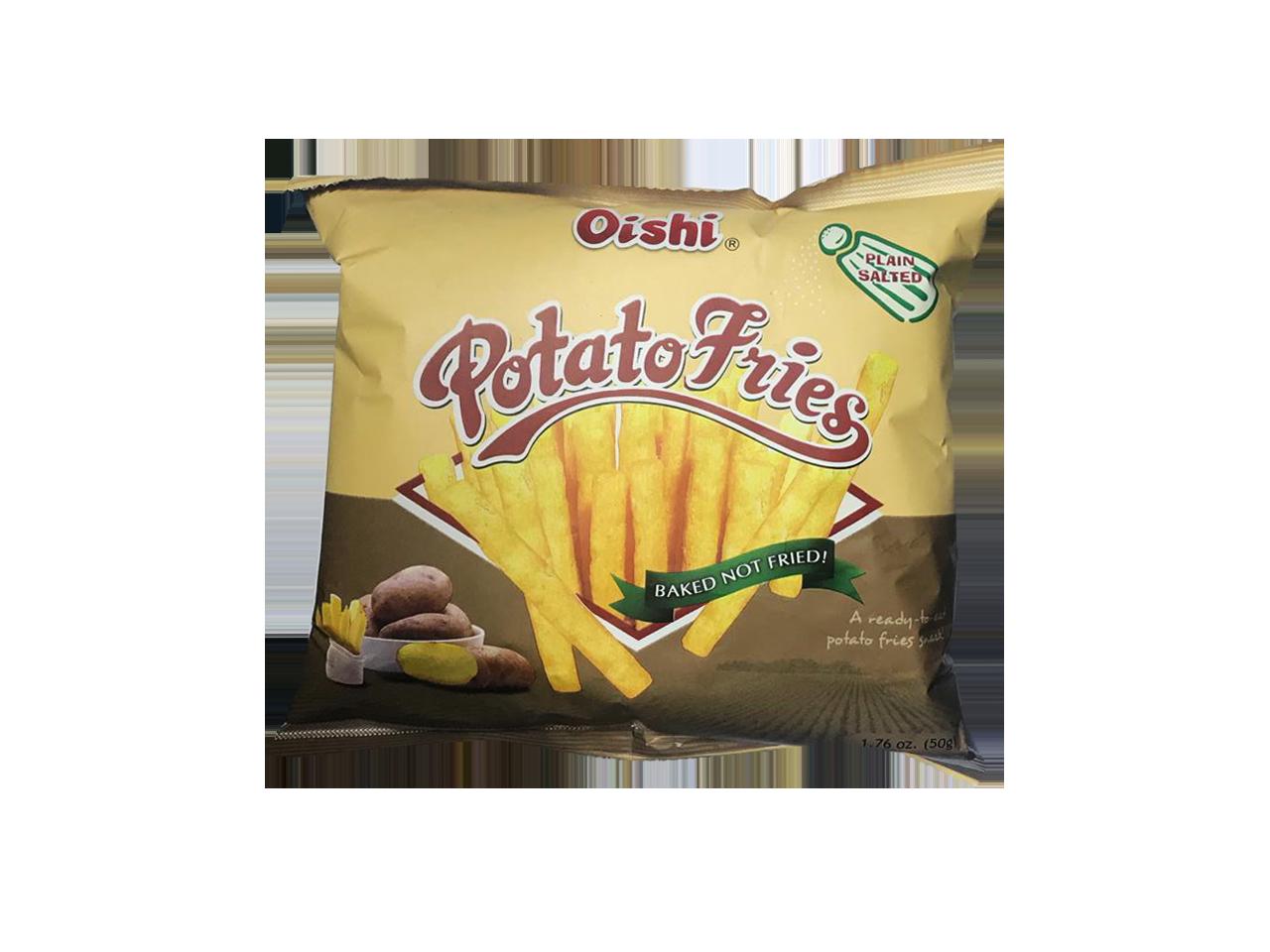 Oishi Potato Fries 50g