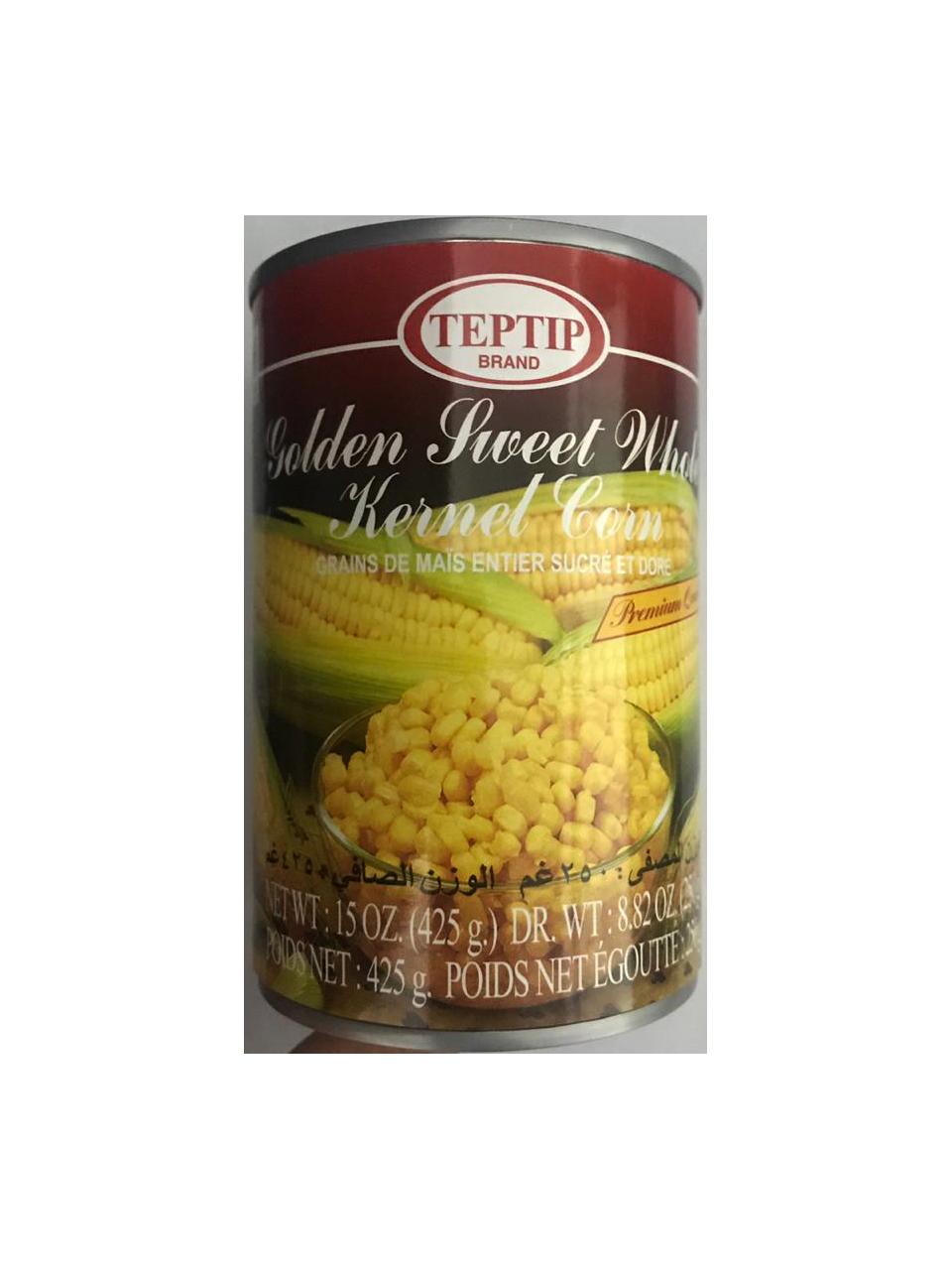 Teptip Sweet Whole Kernel Corn 250g