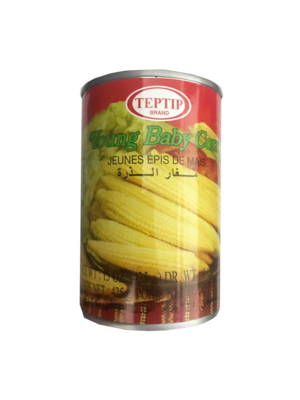 Teptip Young Baby Corn 250g