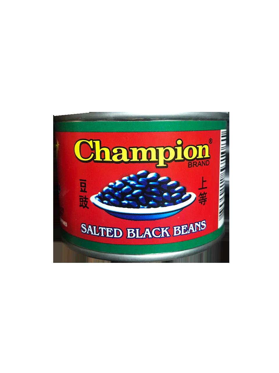 Champion Brand Salted Black Beans 180g