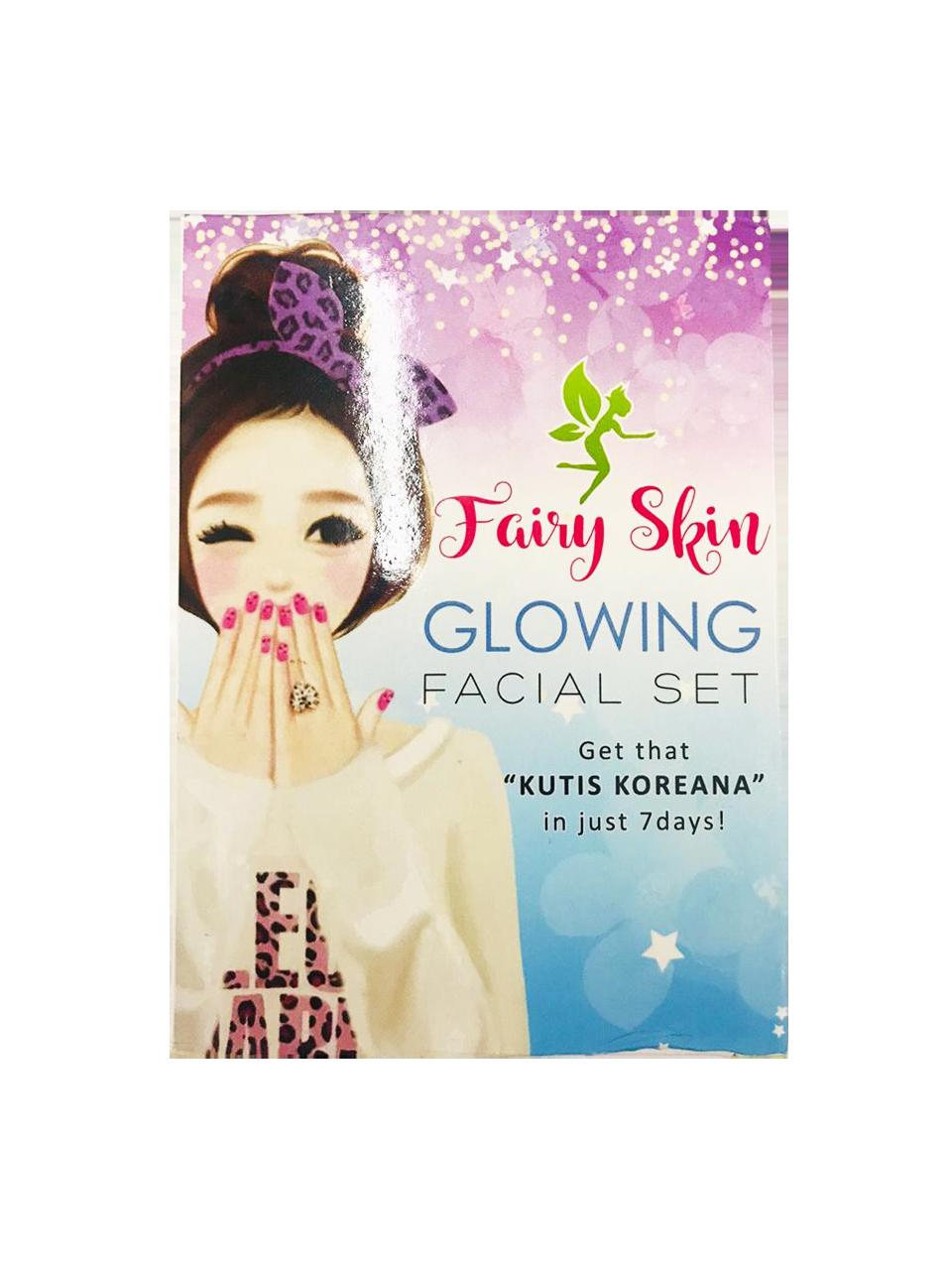 Fairy Skin Glowing Facial Set