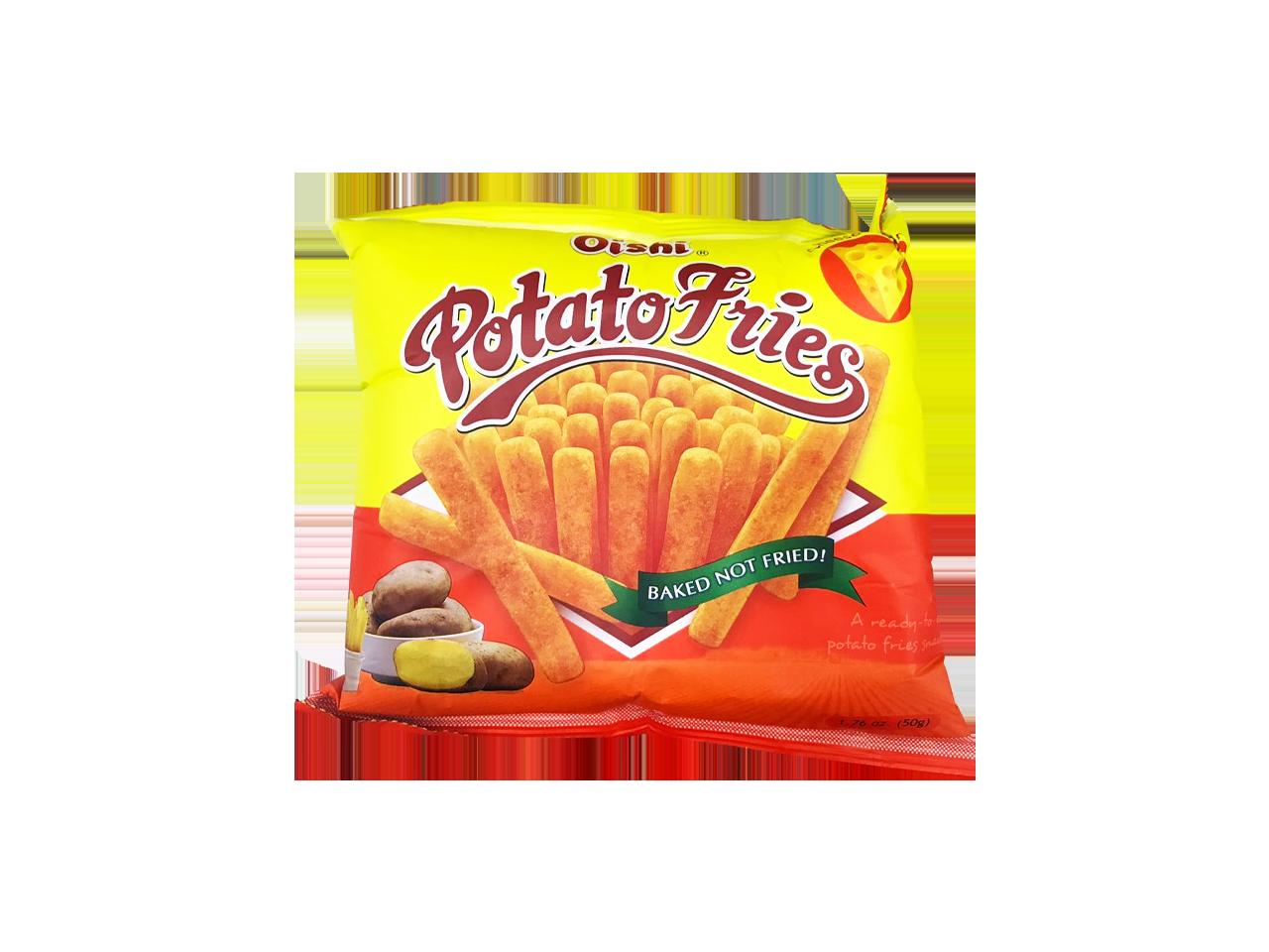 Oishi Potato Fries Cheese 50g