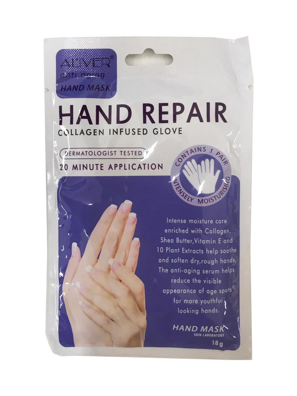 Hand Repair Collagen Infused Glove 18g