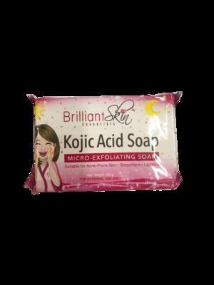 Brilliant Skin Kojic Acid Soap- Micro-Exfoliating