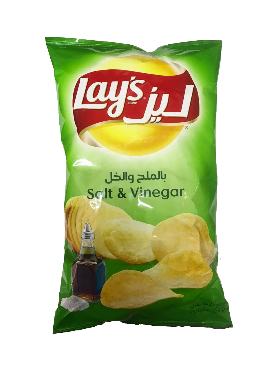 Lays Salt & Vinegar 185g (big)