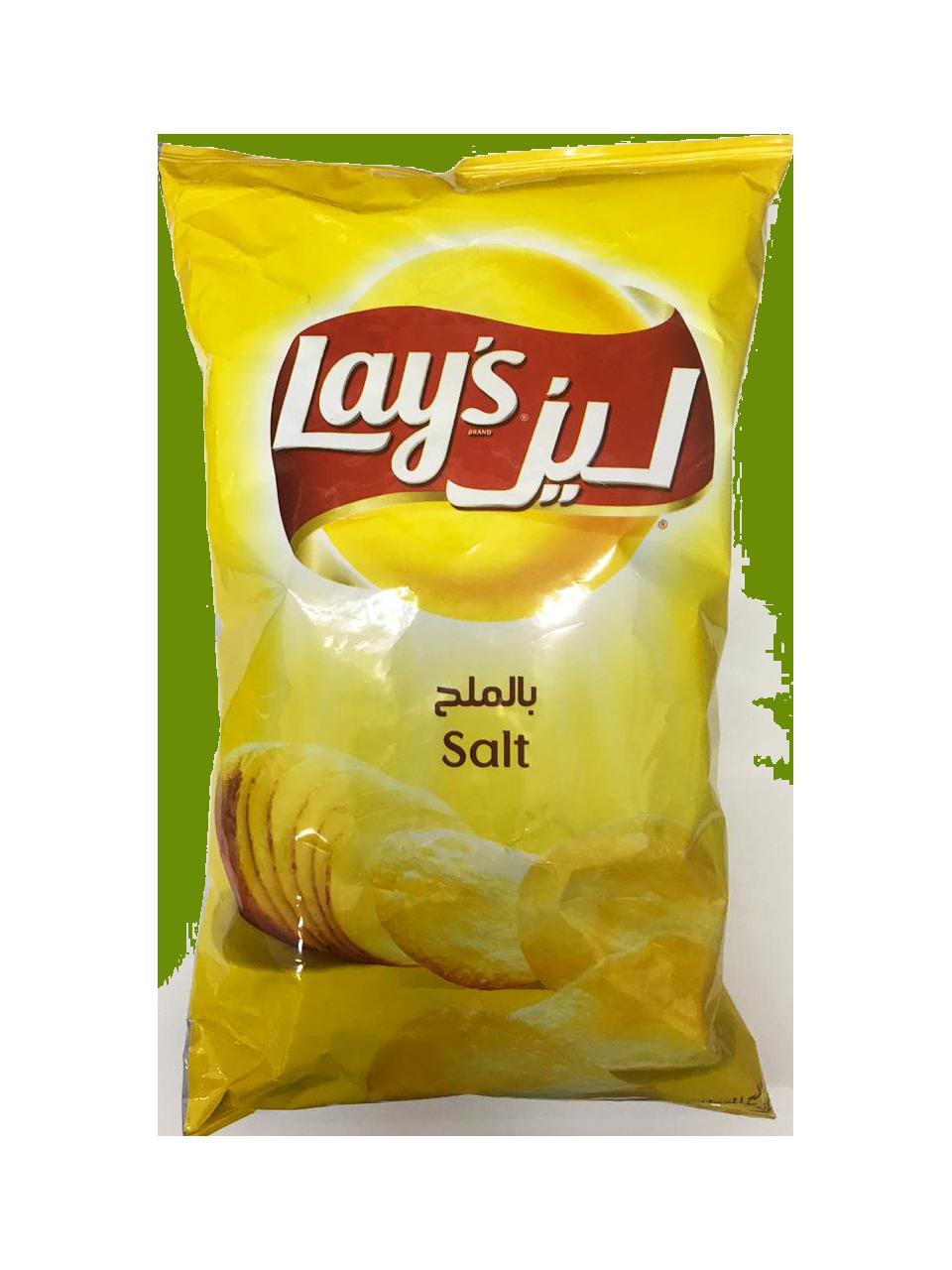 Lays Salt 185g (Big)