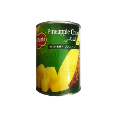 Del Monte Pineapple Chunks in Syrup 570g