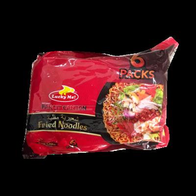 Lucky Me Pancit Canton Pack Hot Chilli (6pcs)