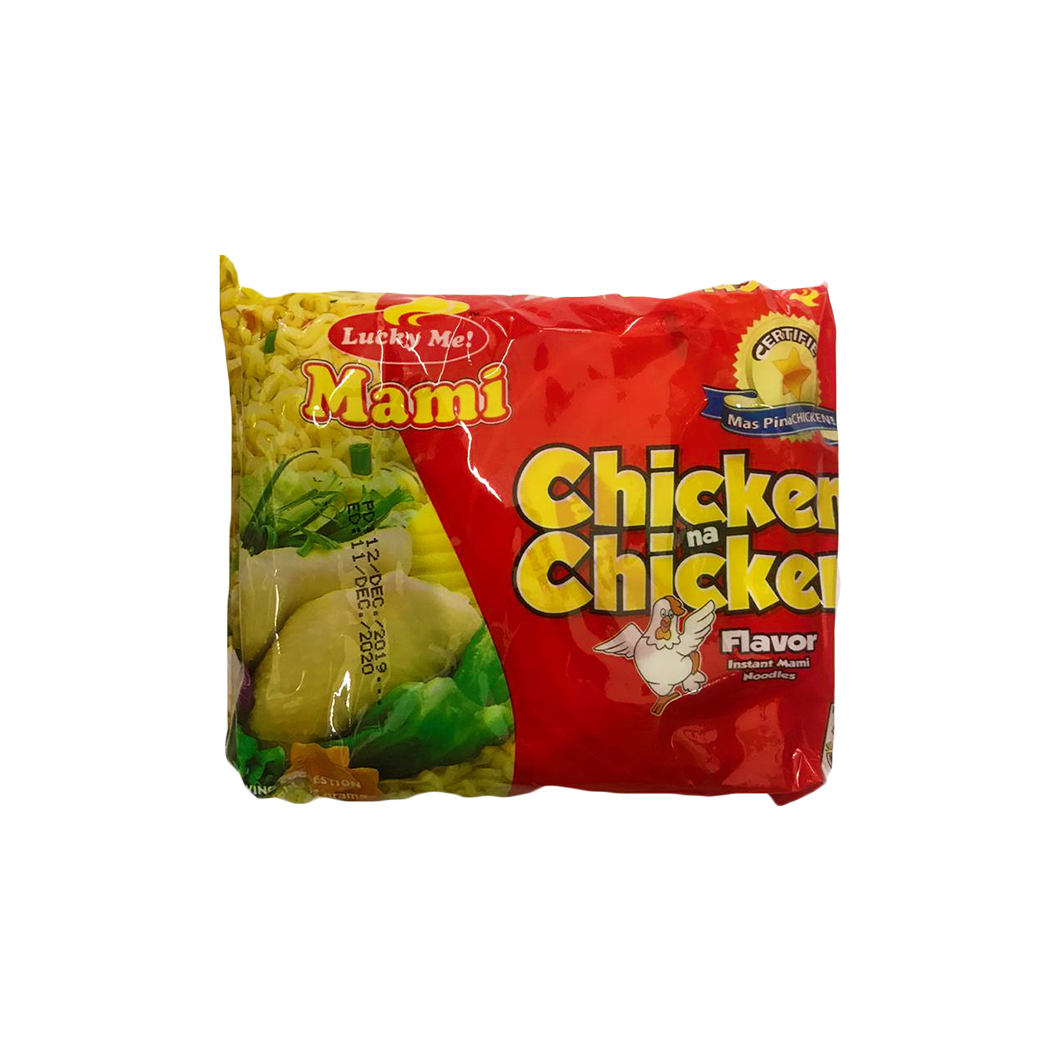 Lucky Me Instant Noodles Chicken Flavor 55g