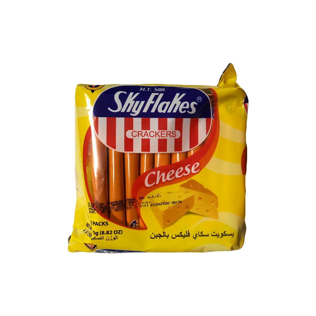 Skyflakes Crackers Cheese 250g