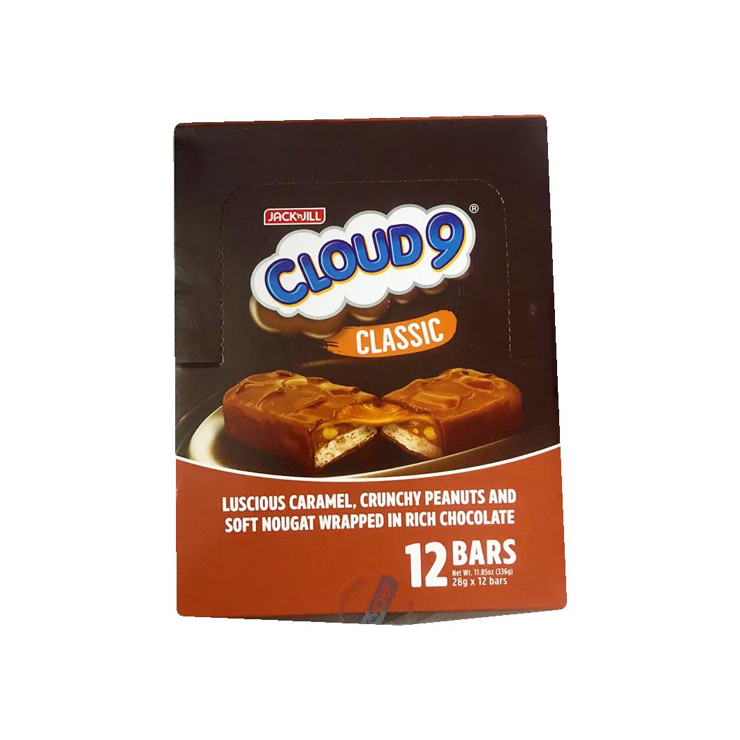 Cloud 9 Chocolate bars 12pc (28g each)