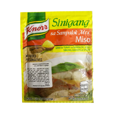 Knorr Sinigang na may Miso Recipe Mix 25g