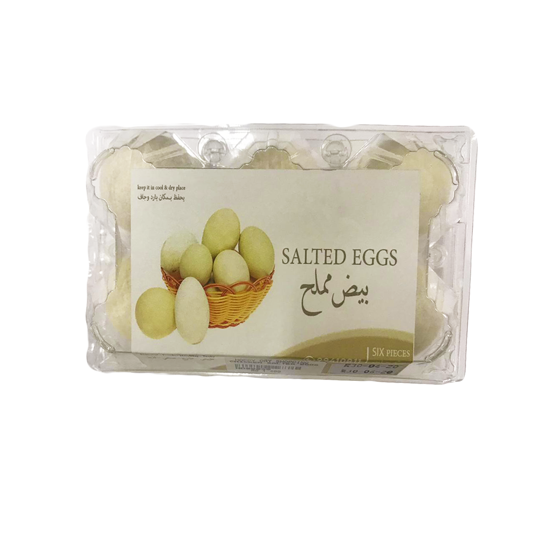 Salted Chicken Eggs 6 pcs
