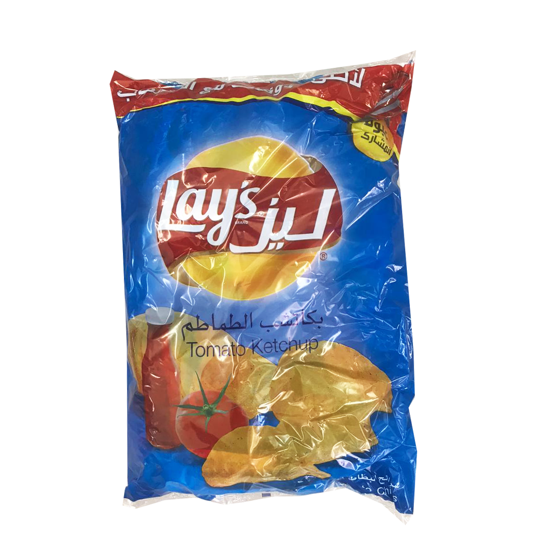 Lays Tomato Ketchup Chips (20 small pc inside)