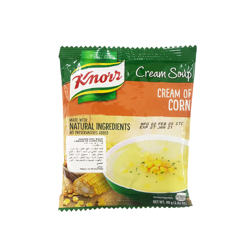 Knorr Cream of Corn Soup 80g