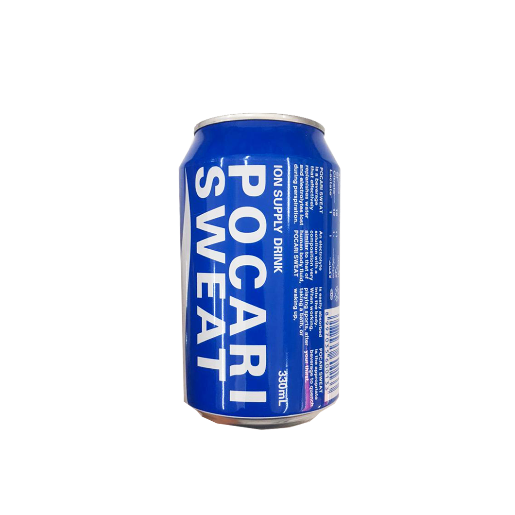 Pocari Sweat Ion Supply Drink 330ml Can
