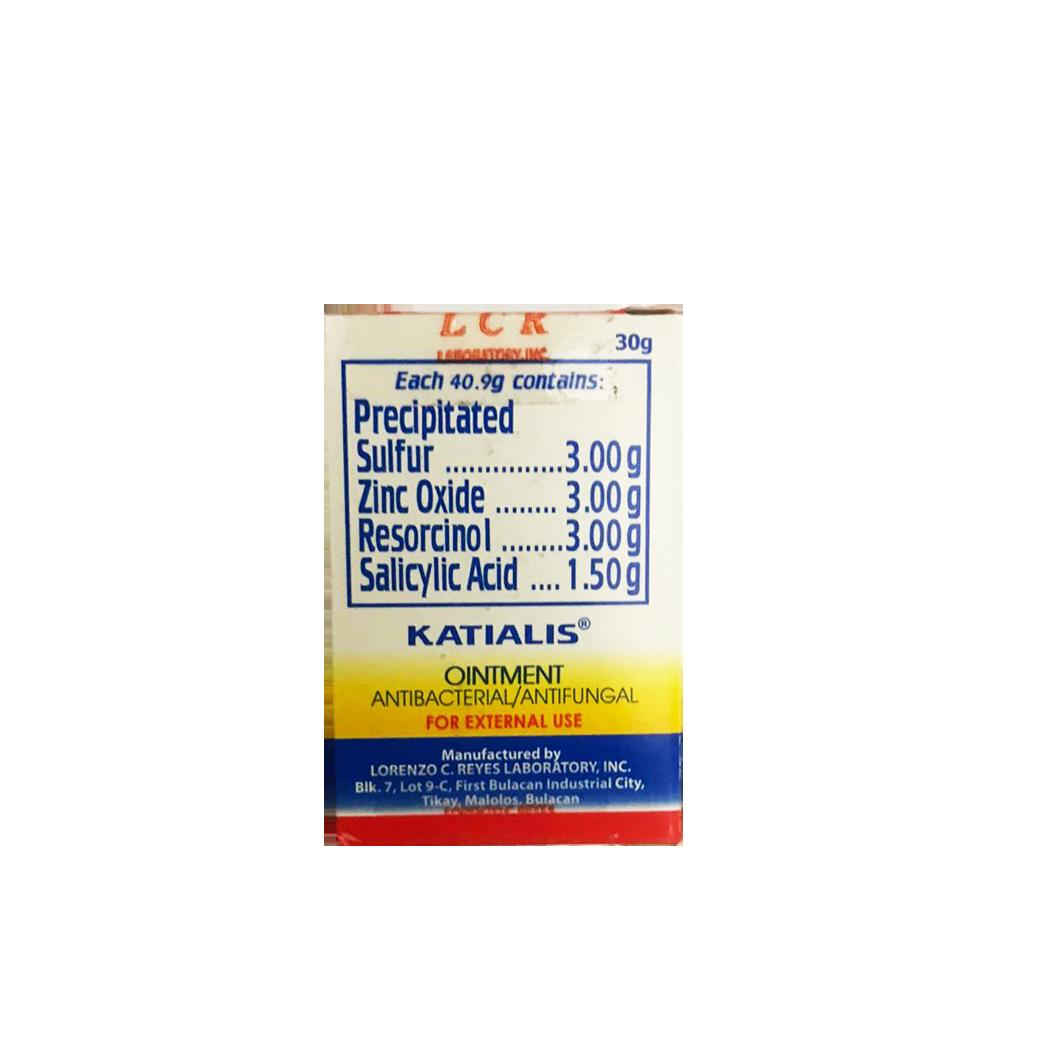Katialis Ointment (Antibacterial/Antifungal) 30g