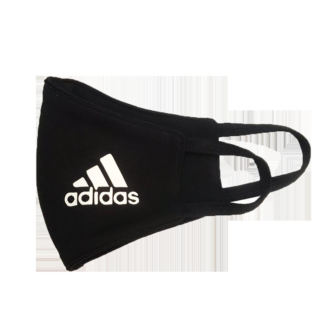 Cloth Facemask Black Adidas