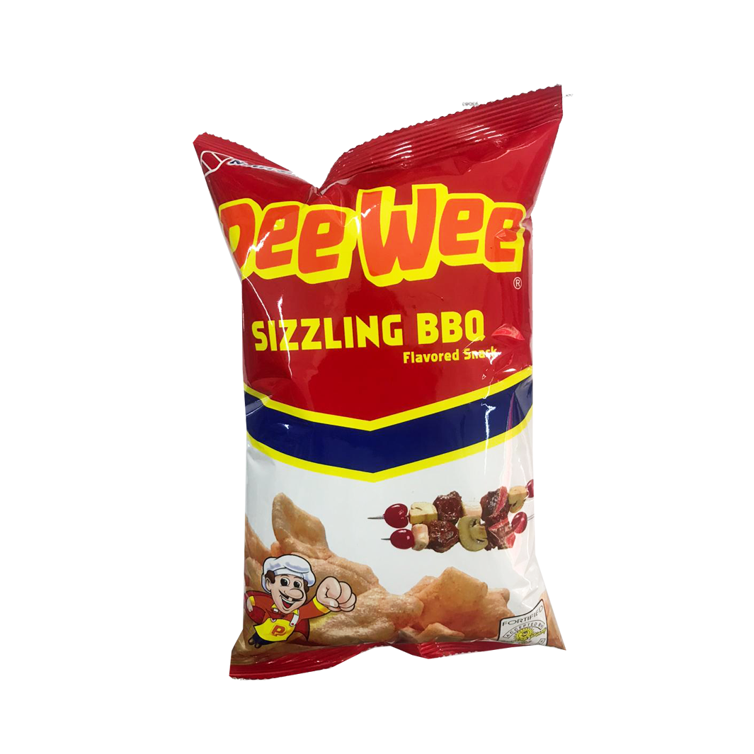 Peewee Sizzling BBQ Flavored Snack 60g (small)