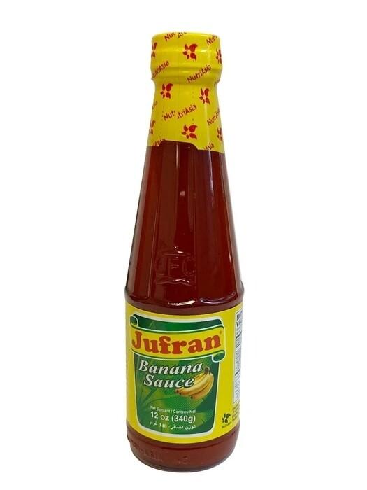 Jufran Banana Sauce Regular 12oz (340g)