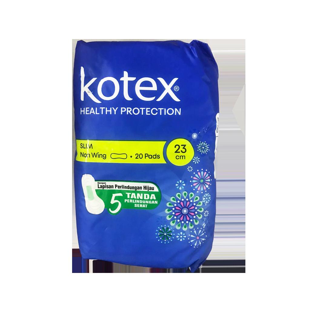 Kotex 20 Pads Slim Non Wings (23cm)