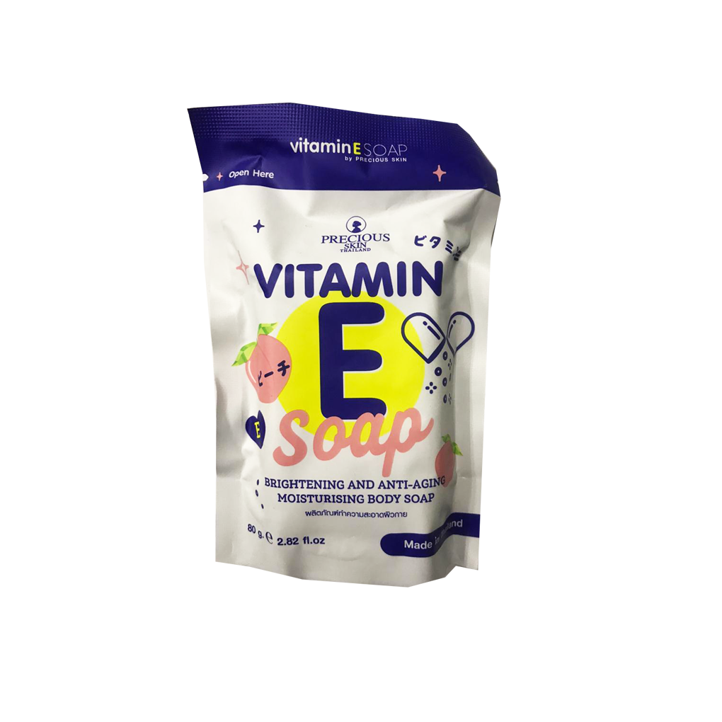 Vitamin E Whitening Soap 80g