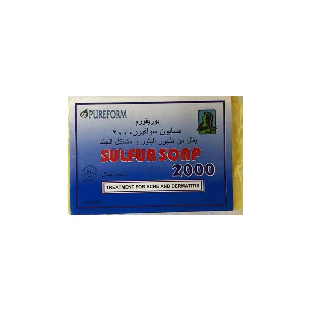Purefoam Sulfur Soap 2000