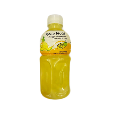 Mogu Mogu - Pineapple Flavored Drink with Nata De Coco 320ml
