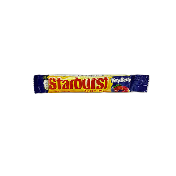 Starburst Fruit Chews Very Bery Candy 45g