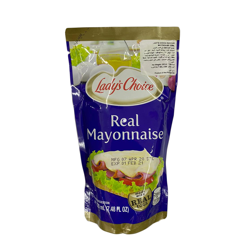Ladys Choice Real Mayonnaise 200ml