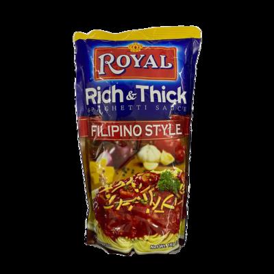 Royal Rich & Thick Filipino Style Spaghetti Sauce 1kg